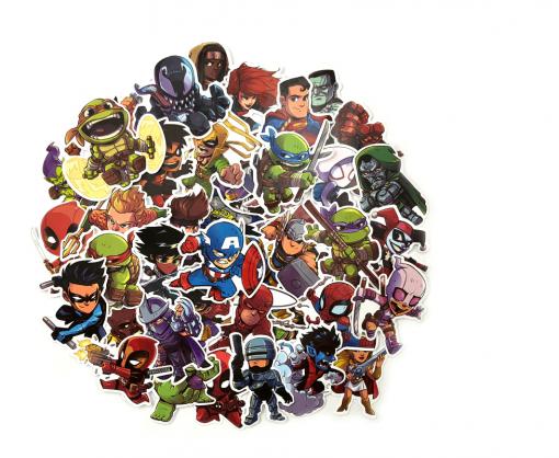 pegatinas-superheroes