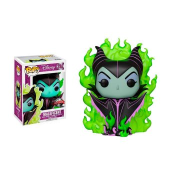 funko-pop-malefica-232-disney-en-llamas-maleficent
