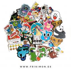 pegatinas-dibujos-animados-años-90-disney-mario-toy-story
