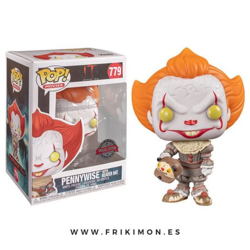 funko-pop-pennywise-gorro-castor-779-IT-special-edition-beaver-hat