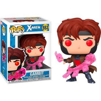 Funko-Pop-Gambito-con-cartas-X-Men-clasicos