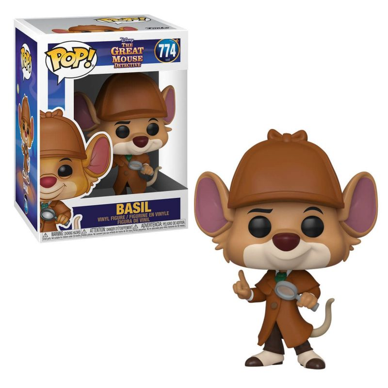 funko-pop-basil-el-raton-superdetective-disney-London-Toy-fair-2020
