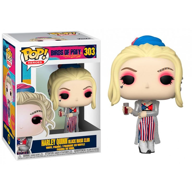 funko-pop-harley-quinn-club-mascara-negra-birds-of-prey-303-dc-comics