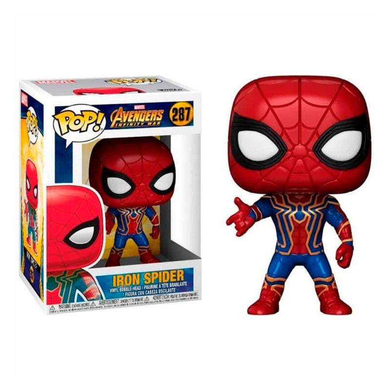 funko-pop-iron-spider-avengers-infinity-war-287-marvel