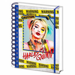 cuaderno-harley-quinn-birds-of-prey-dc-comics