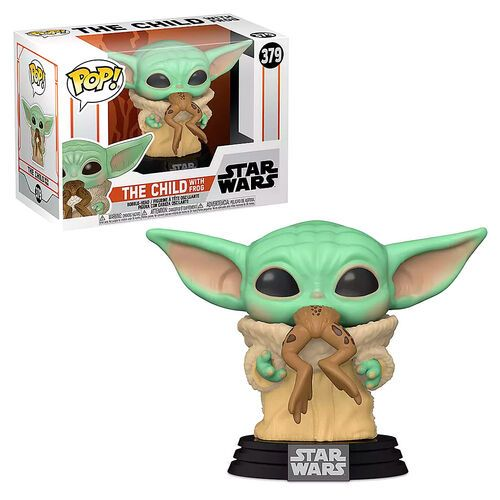 funko-pop-bebe-yoda-comiendo-rana-mandalorian-the-child-star-wars