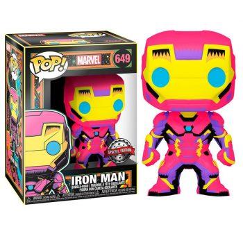 funko pop iron man neon edicion especial