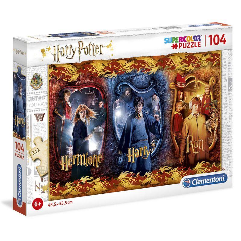 puzzle-harry-potter-104-piezas-ron-hermione