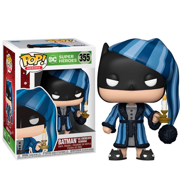 funko-pop-batman-navidad-355-en-pijama-salto-de-cama-dc-comics