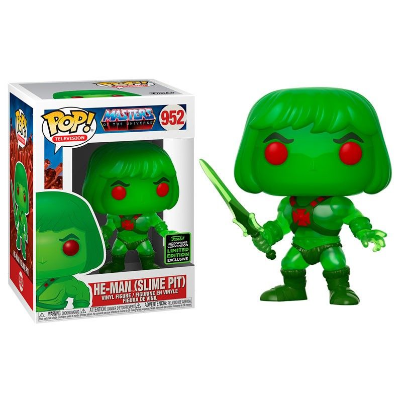 funko pop he man slime pit 2020 spring convention