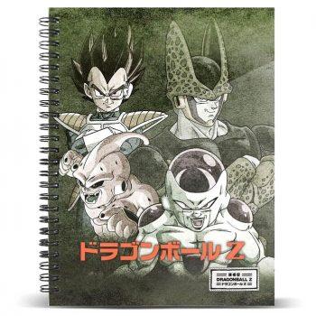 cuaderno evil dragon ball z