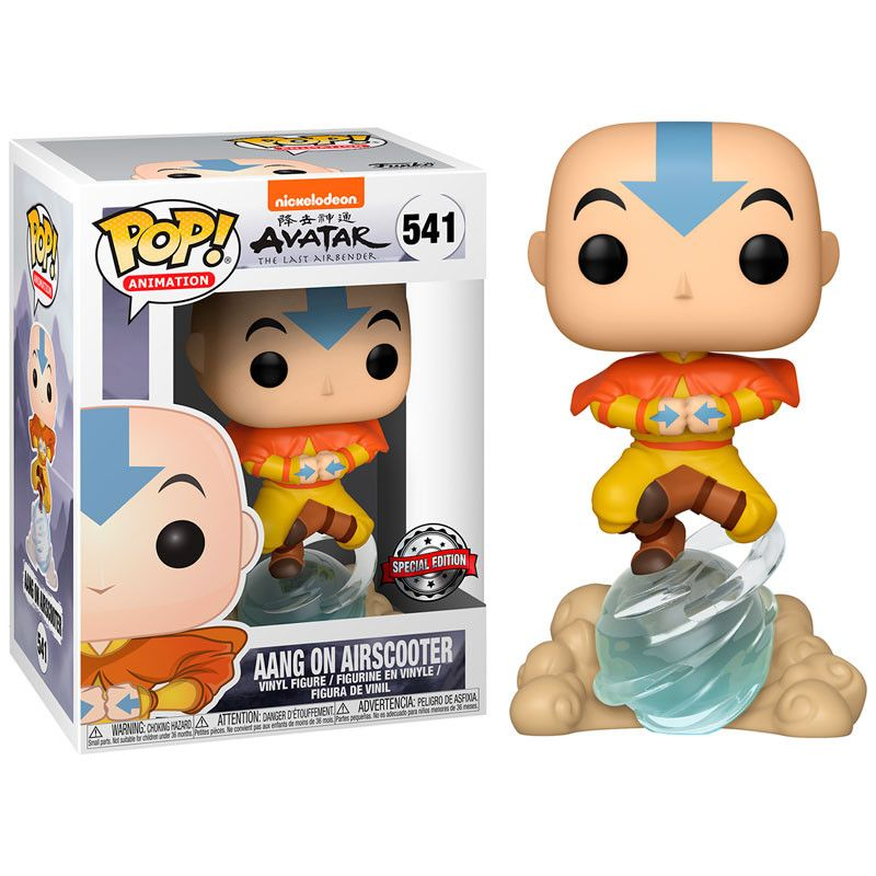 funko-pop-avatar-aang-541-special-edition-on-air-bubble-exclusive