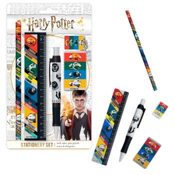 set-de-escritura-harry-potter-hogwarts