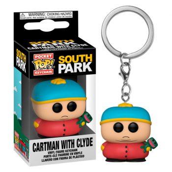 llavero funko pocket pop cartman con clyde south park