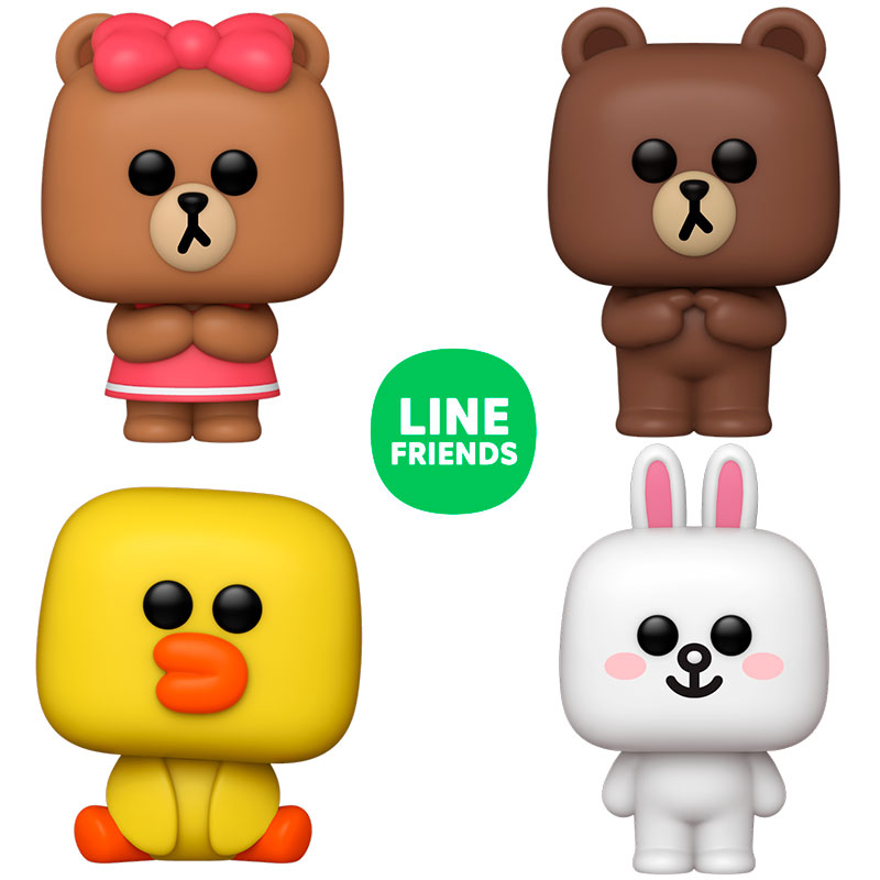 pack-funko-pop-line-friends