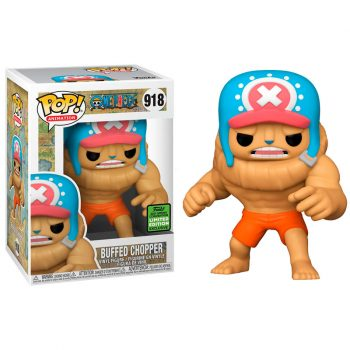 funko-pop-buffed-chopper-918-Limited-edition-exclusive-2021-spring-convention-one-piece