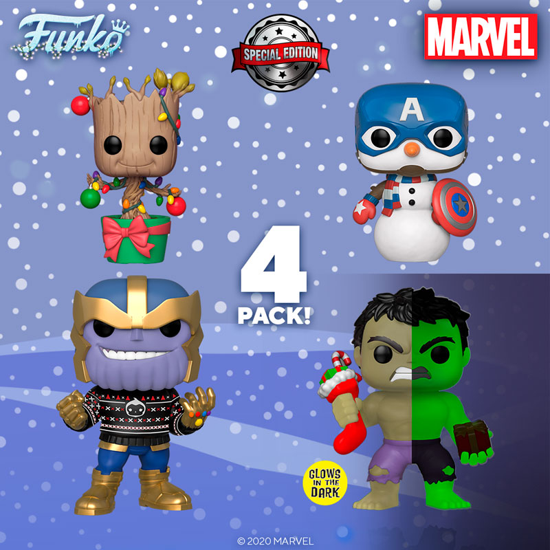 funko-pop-4-pack-marvel-holidays-special-edition