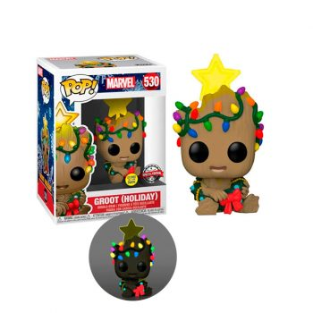 funko-pop-groot-glows-in-the-dark-530-special-edition-marvel-holiday+