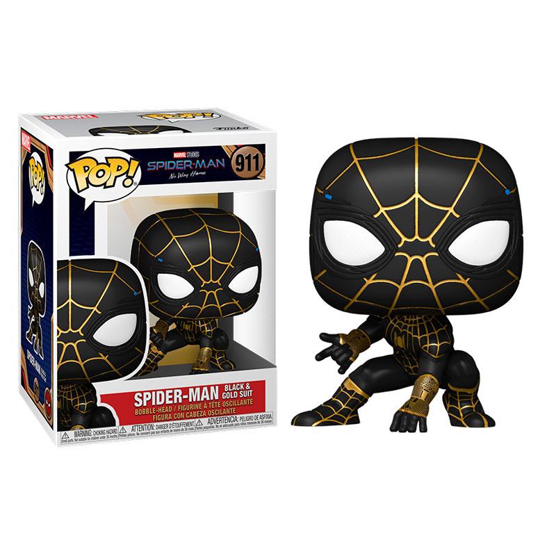 funko-pop-spiderman-traje-negro-y-dorado-911-spiderman-no-way-home