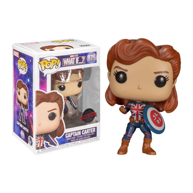 Funko-Pop-Capitana-Carter-875-special-edition-what-if-marvel