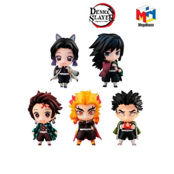 ack-5-figuras-Demon-Slayer-Tanjiro-&-The-Hashira-Mascot-Set-A-MegaHouse