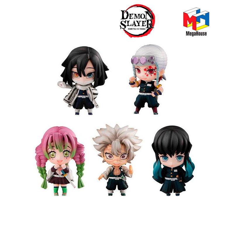 ack-5-figuras-Demon-Slayer-Tanjiro-&-The-Hashira-Mascot-Set-B-MegaHouse