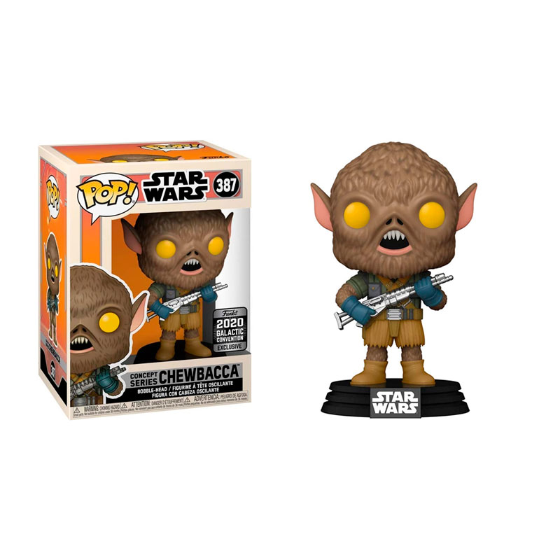funko-pop-chewbacca-concept-series-387-star-wars-2020-galactic-convention-exclusive