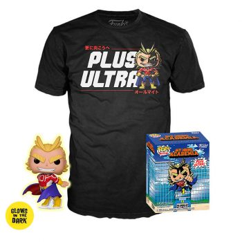 pack-funko-pop-&-tee-my-hero-academia-all-might-glows-in-the-dark