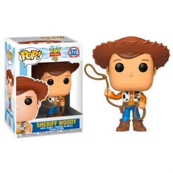 funko pop sheriff woody 522 toy story 4 disney pixar